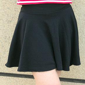 新款韩版宽松显瘦百褶裙