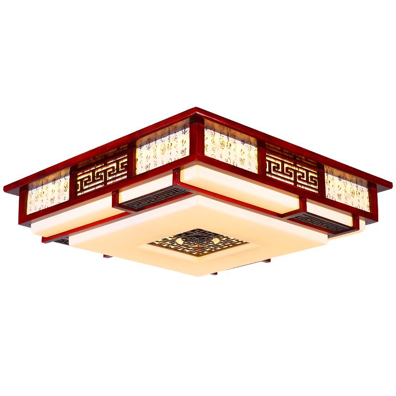 中式餐厅吸顶灯棋牌室空气净化器 吸烟灯麻将馆家用抽烟机排烟器