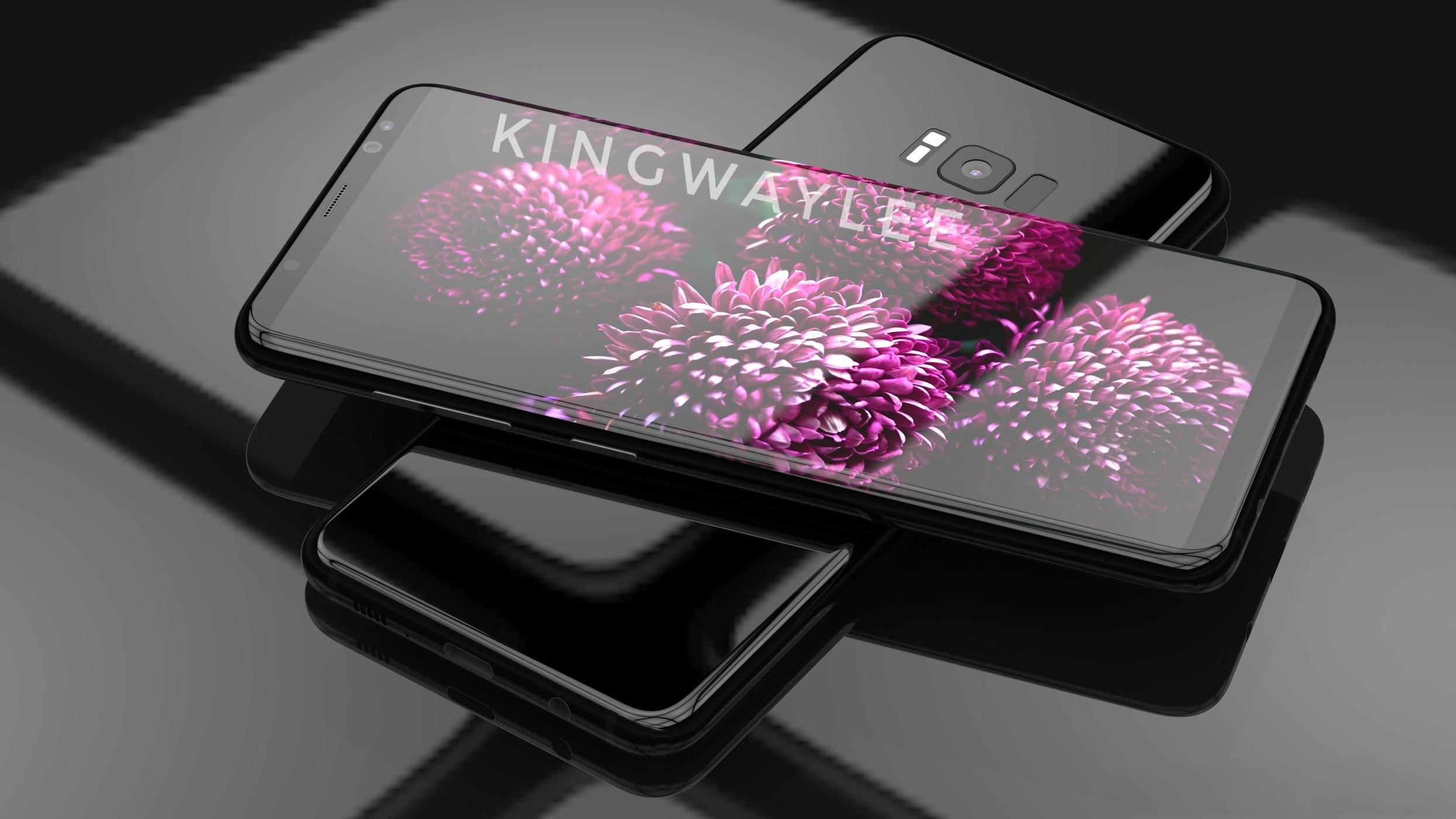 国产公模手机曝光,撞脸三星S8?