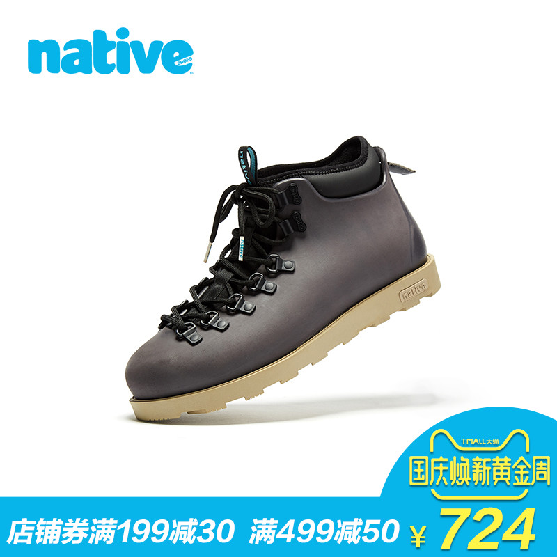 native shoes休闲高帮鞋男鞋女鞋Fitzsimmons2.0可乐鞋工装马丁靴
