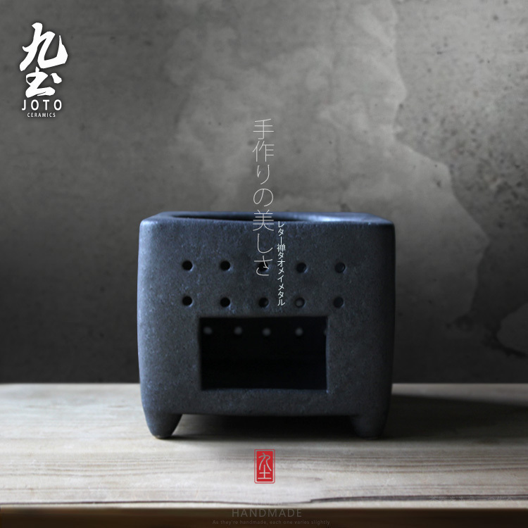 About Nine soil coarse pottery tea stove Japanese boil water in alcohol furnace temperature restoring ancient ways tea stove tea accessories kung fu tea tao tea stove