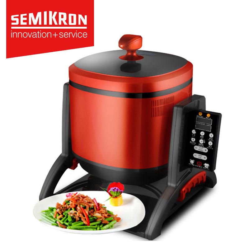 赛米控 家用炒菜机全自动智能炒菜机器人炒饭机滚筒炒菜锅