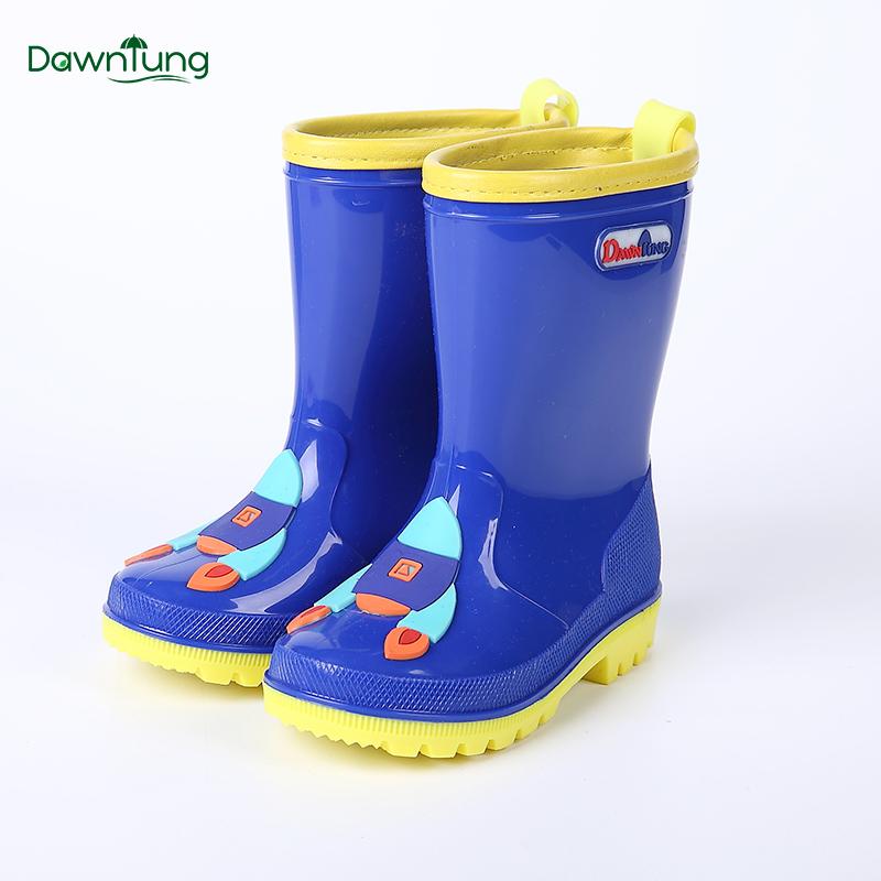 曦之桐时尚卡通儿童雨鞋男童女童婴幼儿宝宝学生胶鞋雨靴水鞋