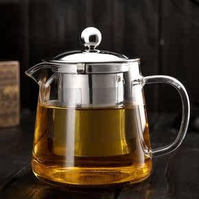 <b>[新品]</b>不锈钢玻璃茶壶550ml