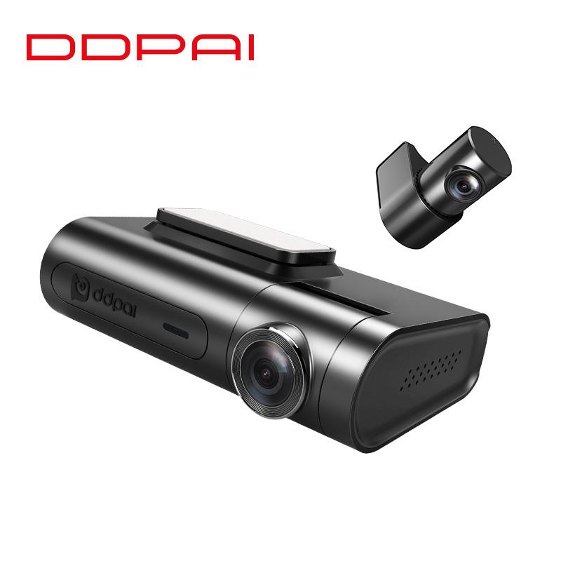 盯盯拍X2Pro行车记录仪双镜头高清夜视1440P无线wifi GPS前后双录