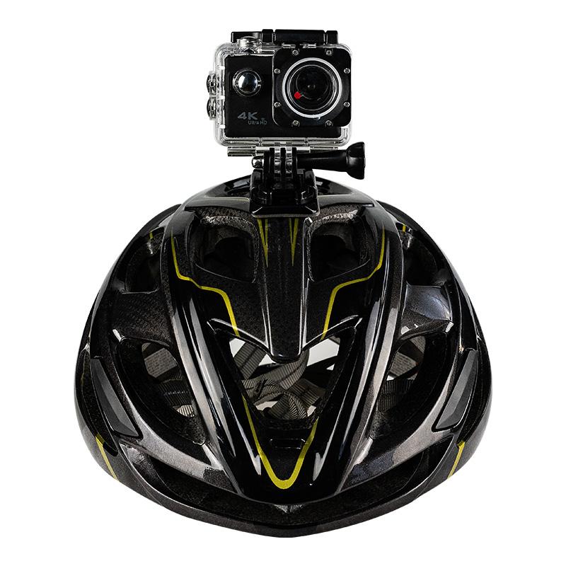 新佰 F68运动相机头戴式高清4K录摄像机潜水照相机旅游DV摄影摩托车骑行登山黑狗水下拍摄骑行