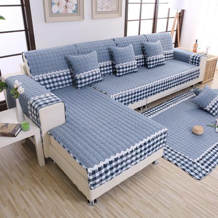 布艺防滑沙发垫四季通用简约现代组合坐垫欧式全盖定做沙发套罩巾