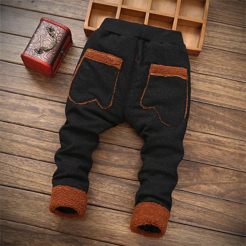 Мальчиков сгущаться брюки мужской ребенок небольшой плюс кашемир ребенок может открыть файл 0 стеганый в моделье зимой 2 младенец младенец 4 полтора года 3 тонкий