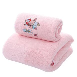 网红男女浴巾成人比纯棉大浴巾柔软儿童宝宝婴儿浴巾情侣毛巾套装