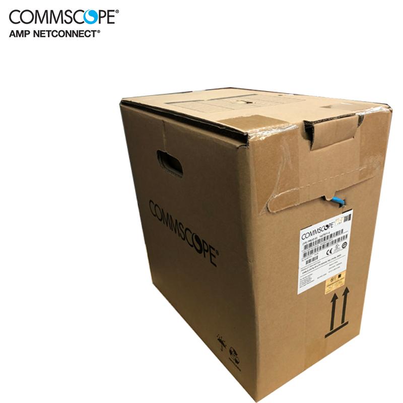 康普amp安普网线6类网线1427071-6六类网线千兆家用高速非屏蔽