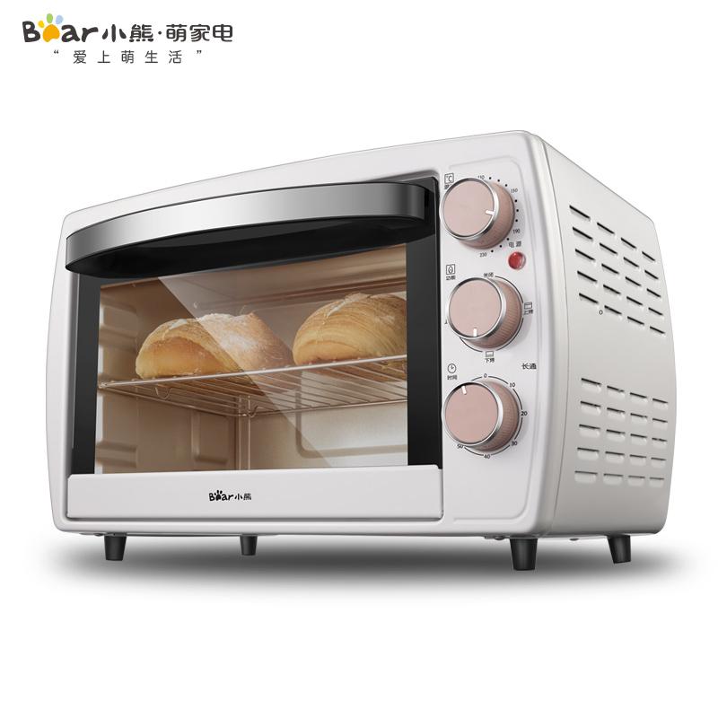 小熊烤箱20L家用迷你电烤箱多功能全自动小型烘焙电器官方旗舰店