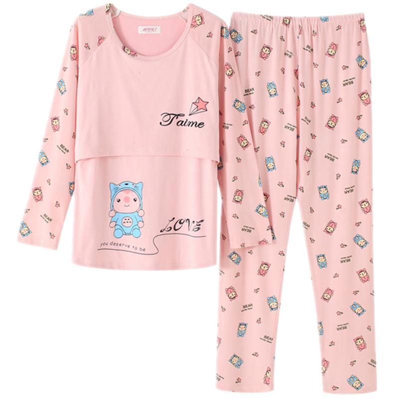 【买一送一】夏季薄款月子服睡衣