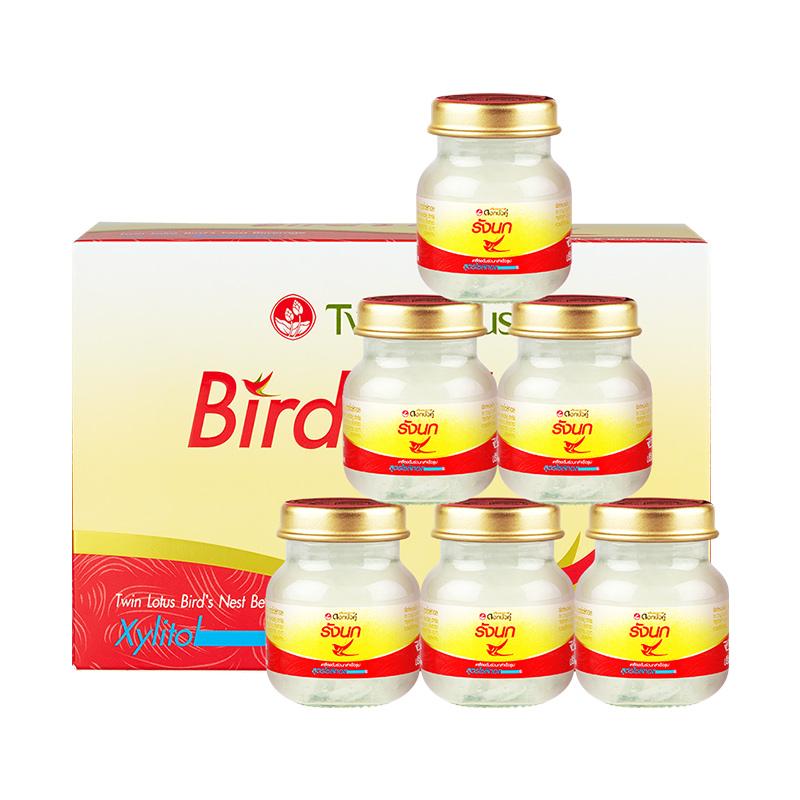 Twin Lotus双莲木糖醇金丝燕燕窝即食45ml*6孕妇营养滋补品无糖