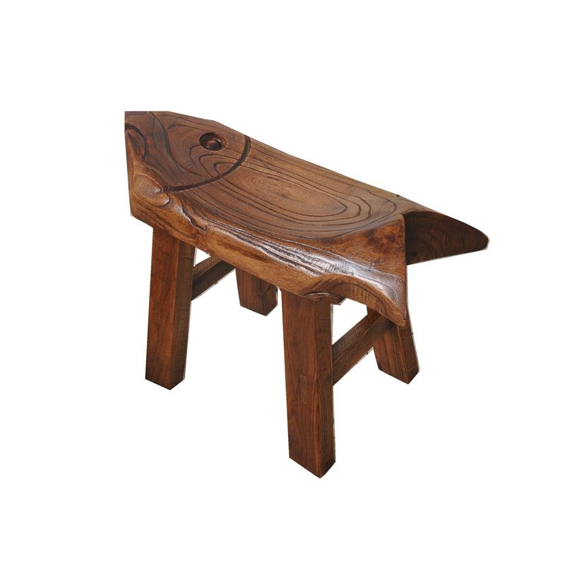老榆木小板凳换鞋凳实木儿童小凳子时尚矮凳家用茶几凳特价包邮图片