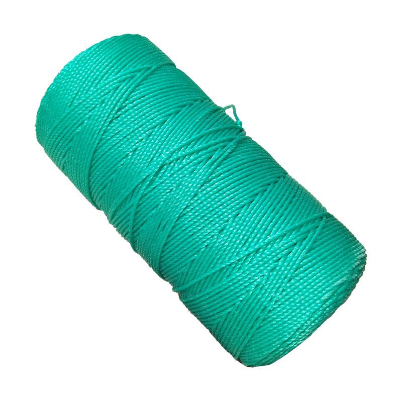 绳子捆绑绳尼龙绳子耐磨晾衣晒被绳户外货车绿色聚乙烯塑料绳粗细
