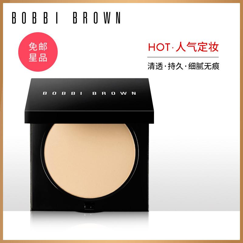 BOBBI BROWN芭比波朗羽柔蜜粉饼 持久定妆控油不拔干 哑光妆效