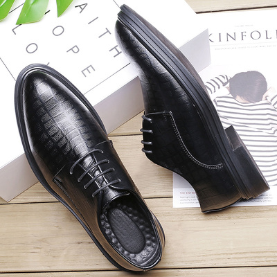 Men Fashion Leather Shoes Man Business Formal Shoes 578660