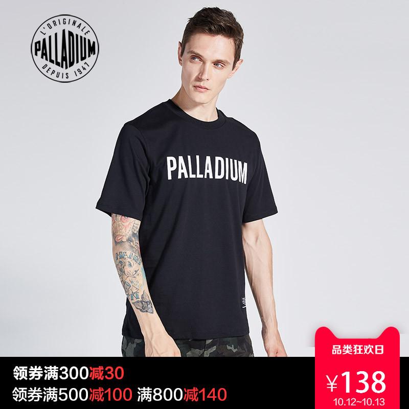 PALLADIUM帕拉丁男T恤 短袖2018夏新品 PDNE82901M