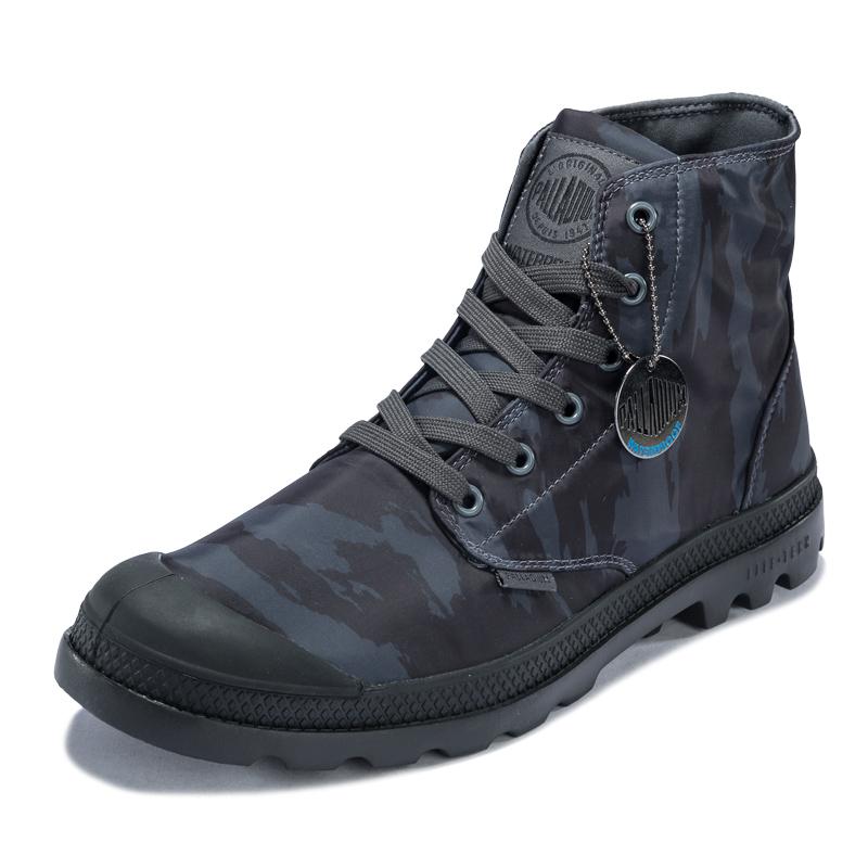 PALLADIUM帕拉丁 帆布鞋 高帮鞋 男鞋 Pampa puddle lite 73085-M