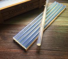 Клеевый термопистолет 环保透明胶棒/热熔胶棒/热溶胶条胶枪7mm11mm高粘性热熔胶条胶棒