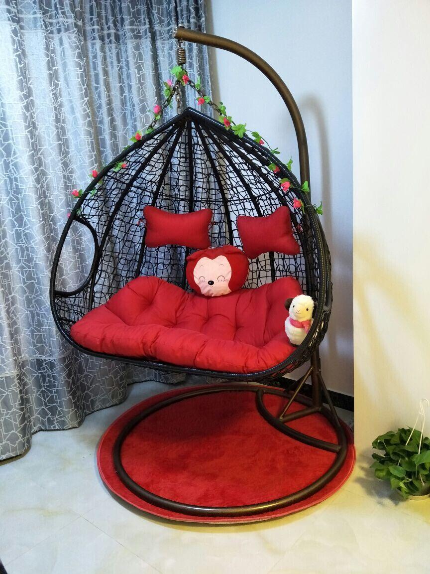 吊椅的编织方法图解