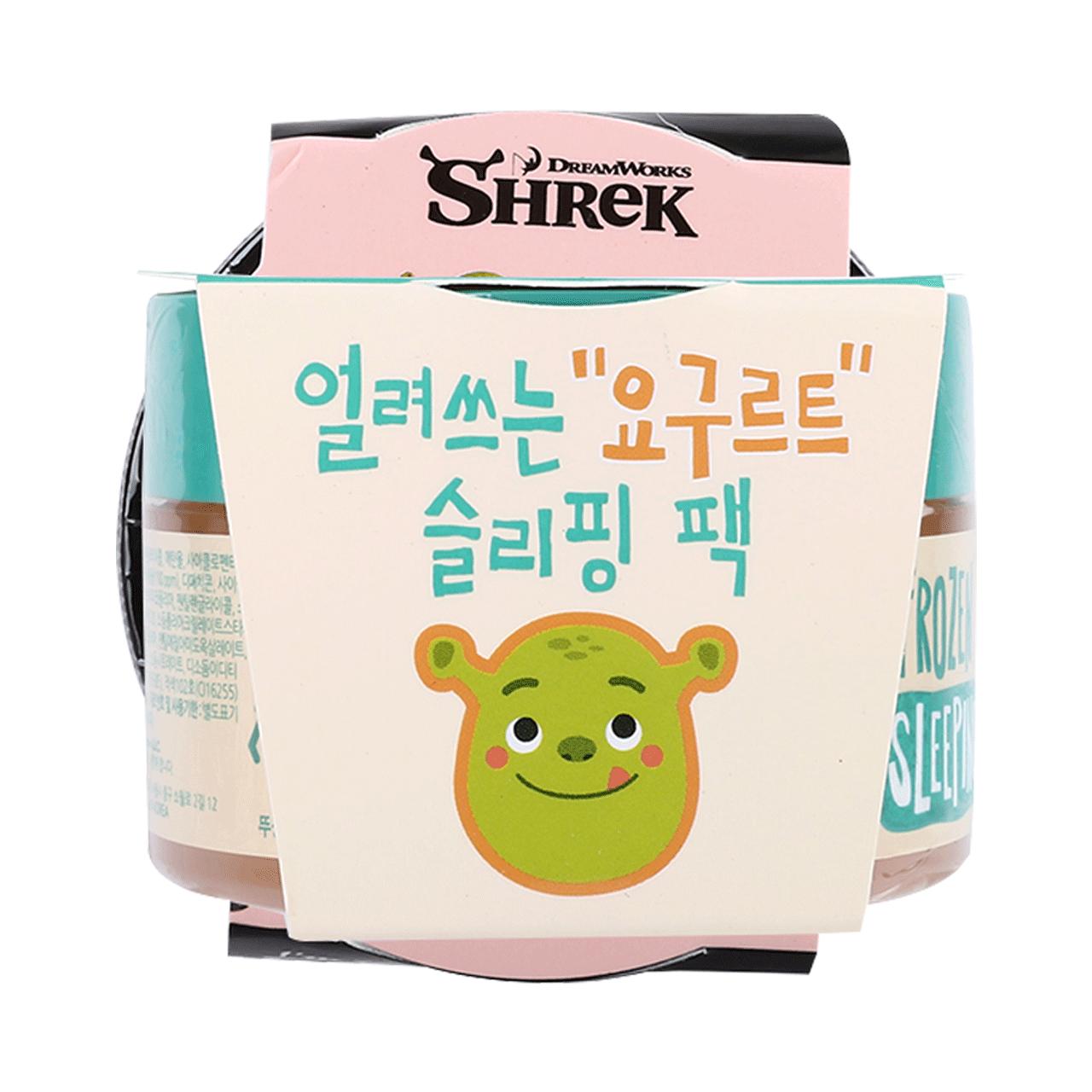 【韩国化妆品】韩国DREAMWORKS魔法花香酸奶睡眠面膜100ml夜间补水保湿清洁改善