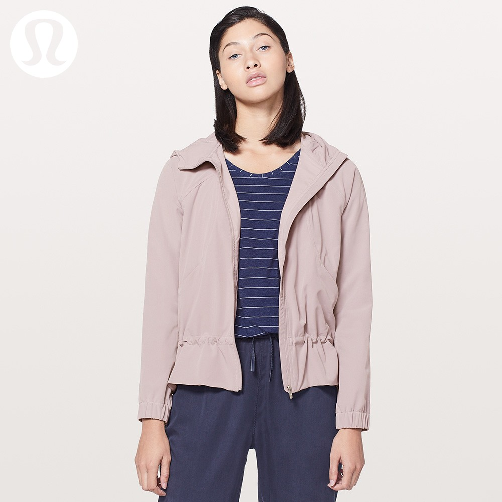 lululemon丨Pack It Up 女士运动夹克LW4ARJS