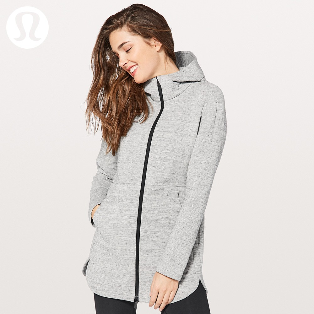 lululemon丨Going Places Hooded 女士休闲运动夹克LW4ABQS