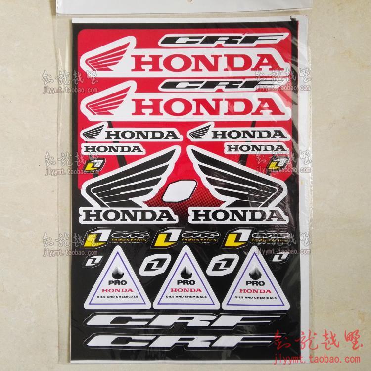 Наклейка на мотоцикл Мотоцикл модификации декоративные Хонда Honda Kawasaki Призрак коготь увеличить набор наклейки наклейки тарелка цветы личность Бесплатная доставка
