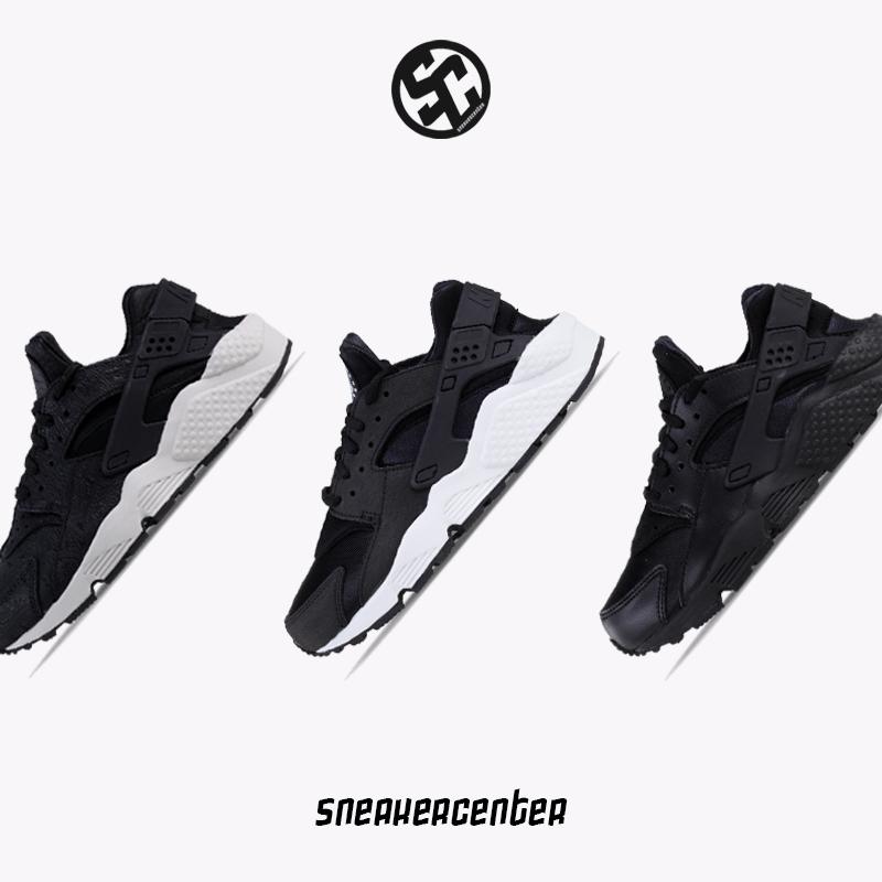 耐克Nike Air Huarache 华莱士 女鞋休闲运动跑步鞋 634835-006