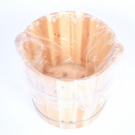 一次性泡脚足浴袋洗脚盆袋足疗用品木桶塑料加厚袋子100只