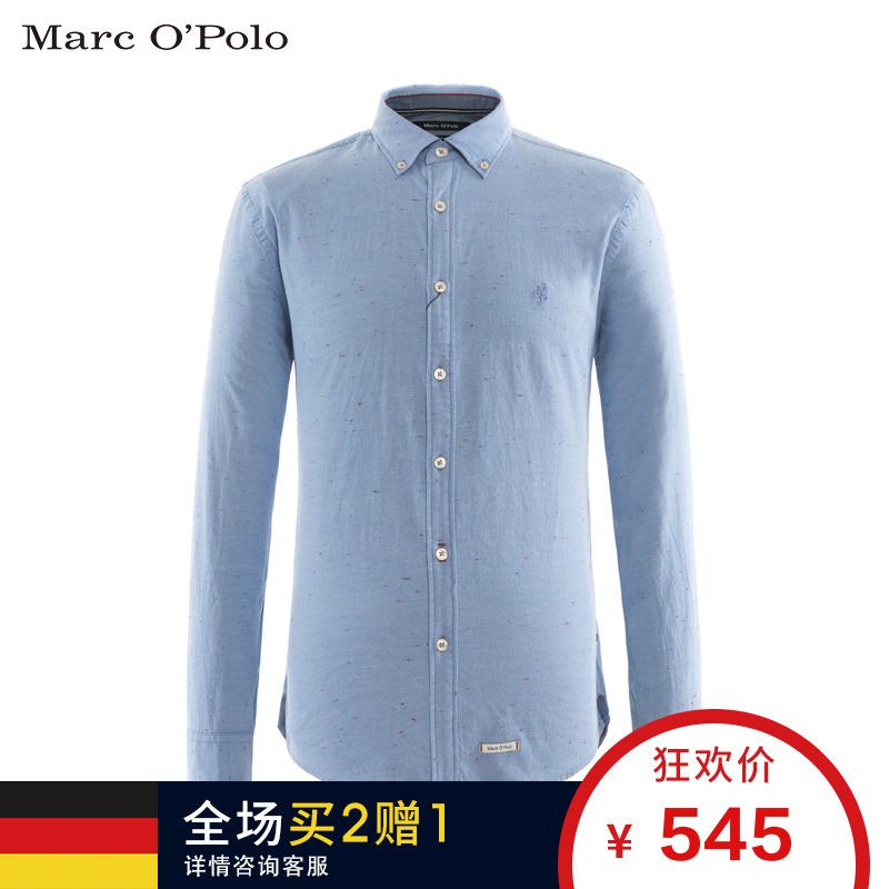 Marc O'Polo-MOP 男士方领印花衬衫 729736042422