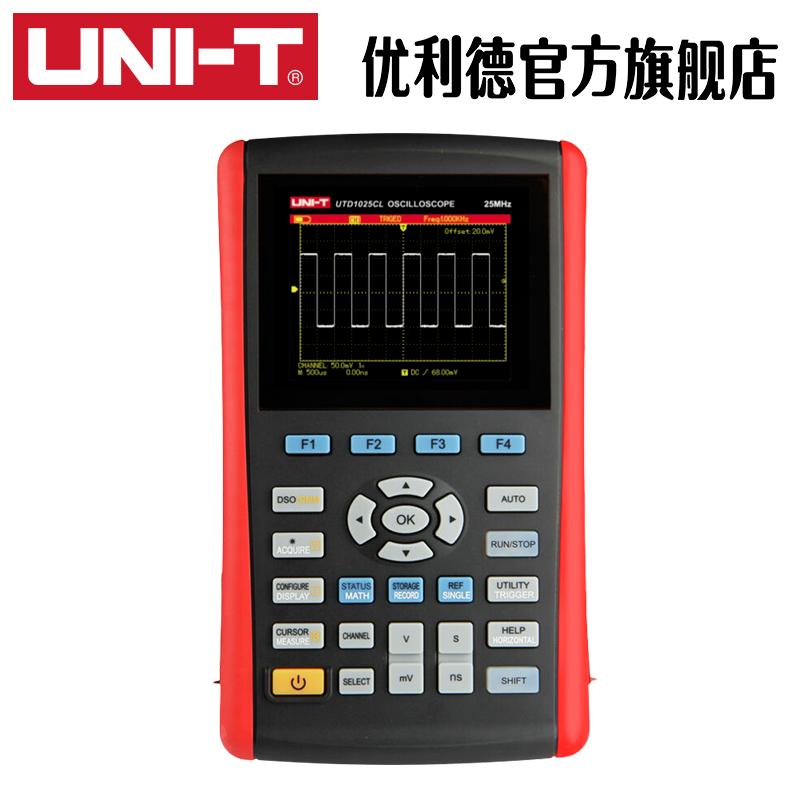 优利德UTD1025CL-1050DL数字存储示波器手持示波表数字汽修示波表