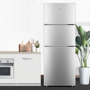 韩上冰箱三门小冰箱租房宿舍节能冰箱家用小型双开门冷藏冻小冰箱