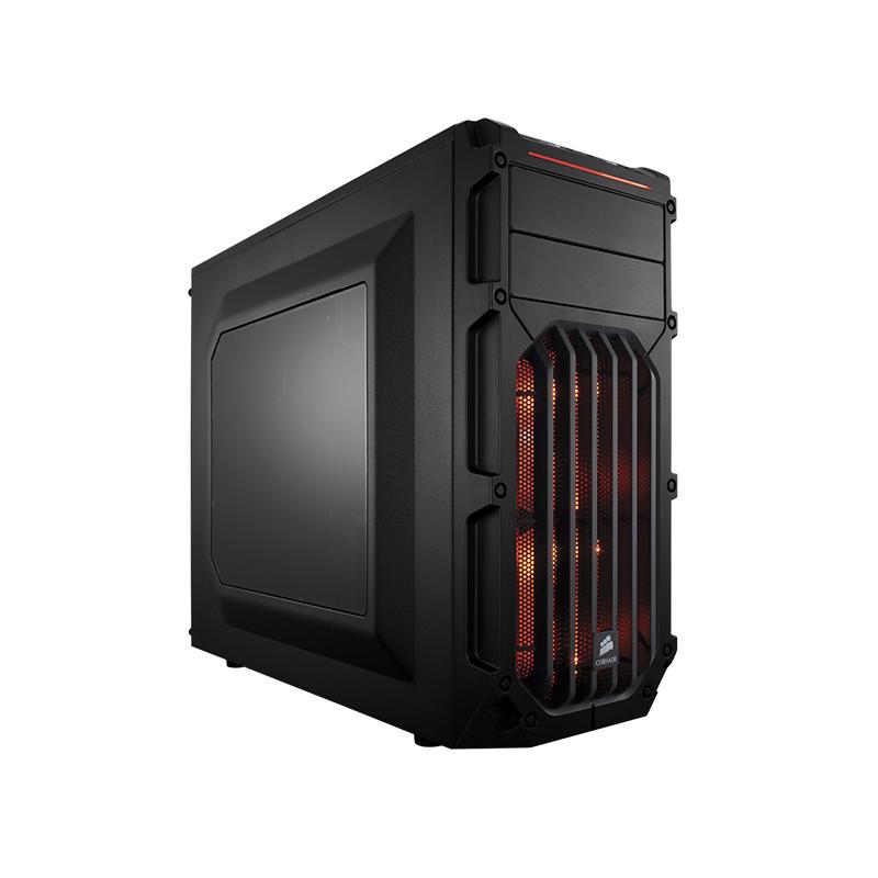 美商海盗船SPEC-03中塔侧透明游戏组装主机散热电脑台式水冷机箱