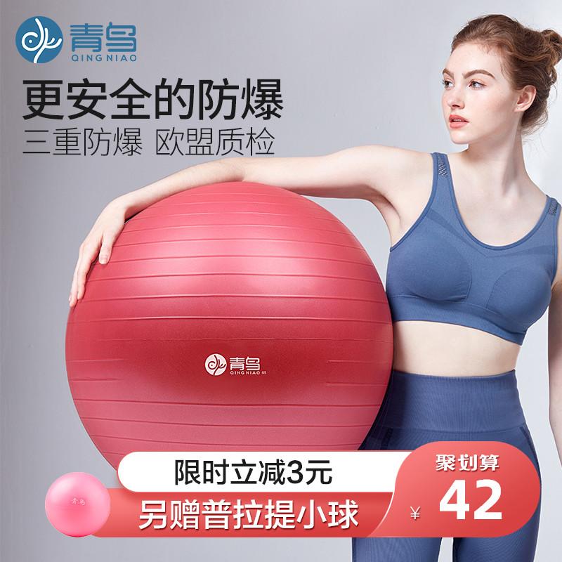 瑜伽球加厚防爆健身减肥瑜珈大龙球儿童感统训练孕妇专用助产分娩