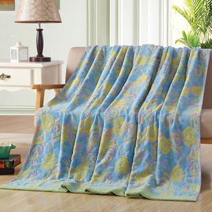 Covator纯棉毛巾被单盖毯空调被