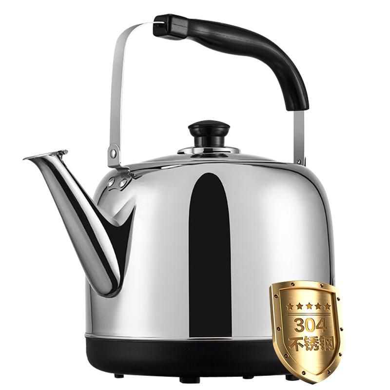 荣事达电热水壶家用304不锈钢6l大容量自动断电电热烧水壶电水壶