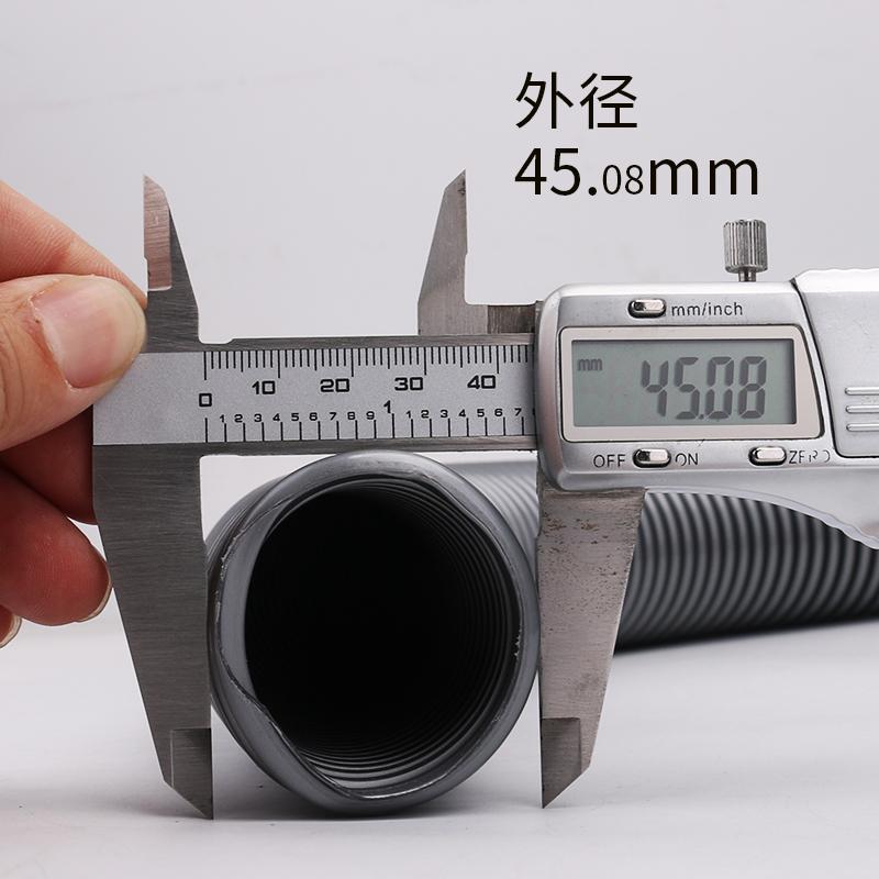 吸尘器管子软管配件通用洁霸超宝杰诺工业螺纹管波纹吸尘管内38mm