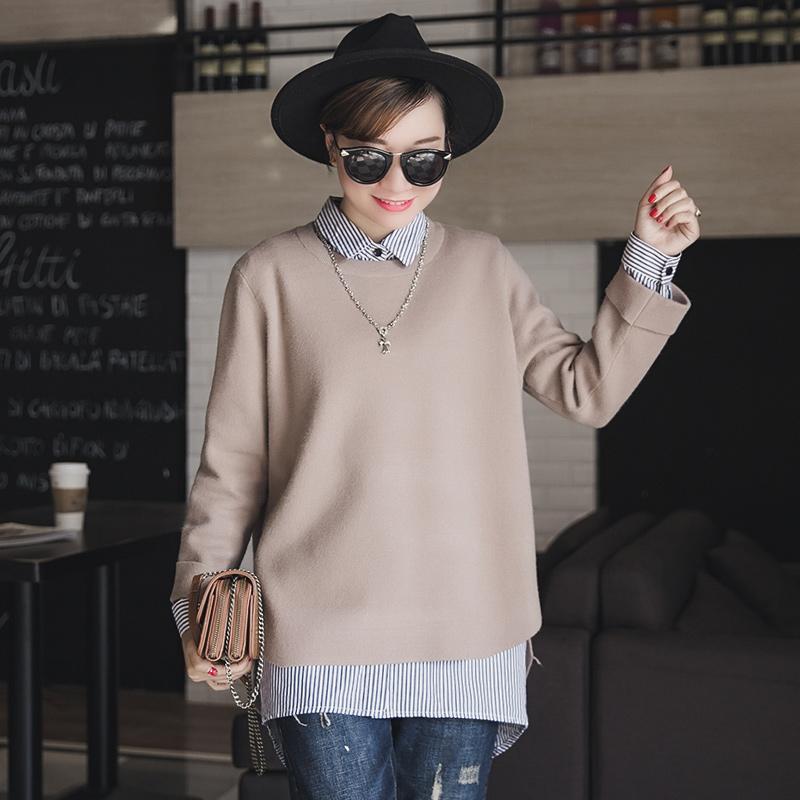 穿这样的针织衫,能搭出优雅女人味