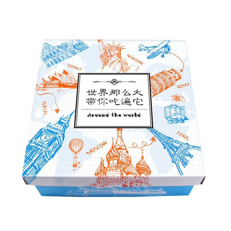 网红进口零食大礼包整箱送男女友组合装进口食品卡通礼盒生日礼物-给呗网