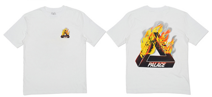 Футболка мужская Others PALACE SKATEBOARDS 16SS TRI-FIRE T-SHIRT TEE