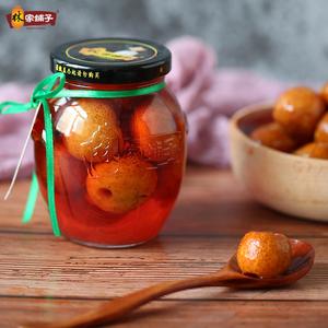 林家铺子 糖水山楂罐头新鲜水果罐头休闲罐头食品零食350gX6罐