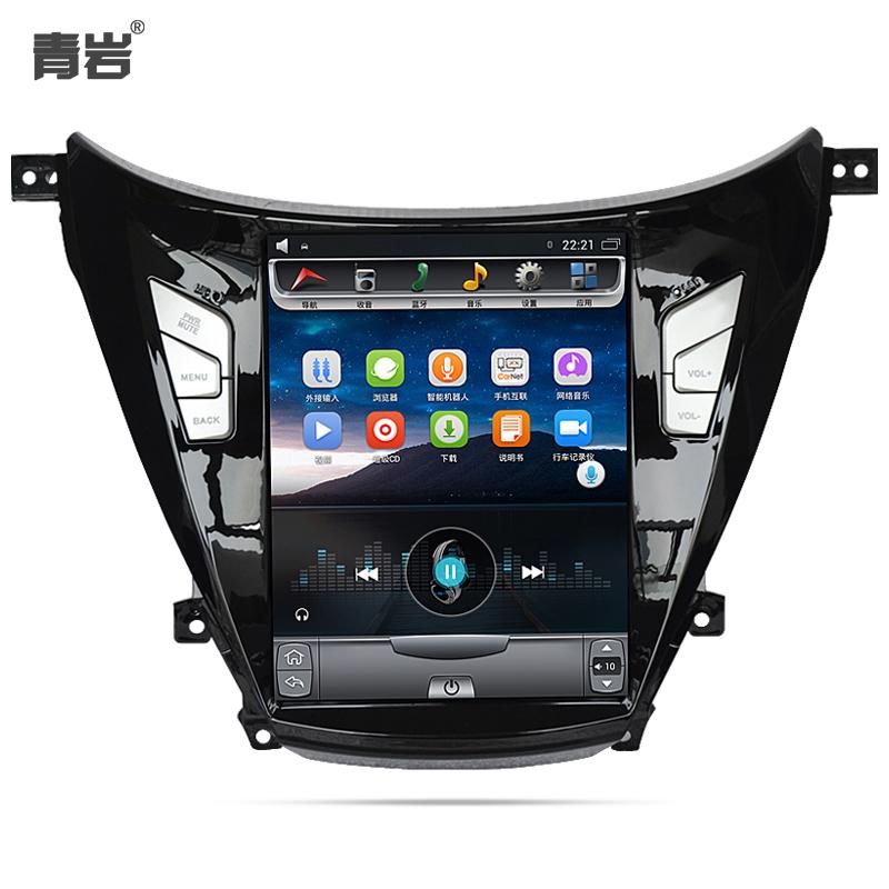 青岩现代朗动导航大屏智能车机安卓车载中控一体机显示竖屏10.4寸