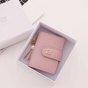 放卡的卡包女式超薄小巧大容量个性迷你多功能卡包钱包一体包女