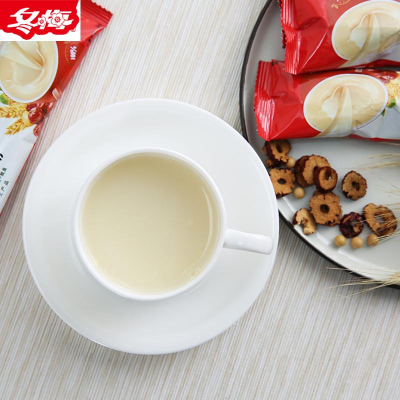 冬梅豆粉麦枣豆浆粉 早餐营养冲泡豆浆17条装代餐粉 速溶甜豆浆粉