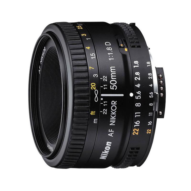 尼康50 1.8D单反定焦镜头AF 50mm f-1.8D人像大光圈镜头小痰盂