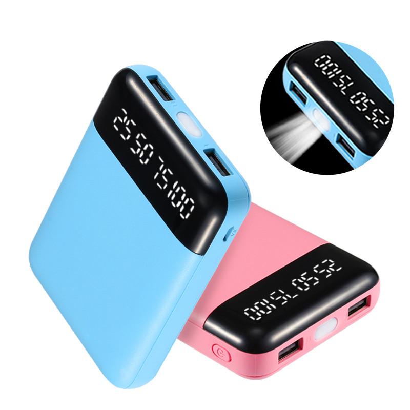 迷你充电宝小巧便携可爱超萌超薄移动电源快充蘋果6智能手机7通用