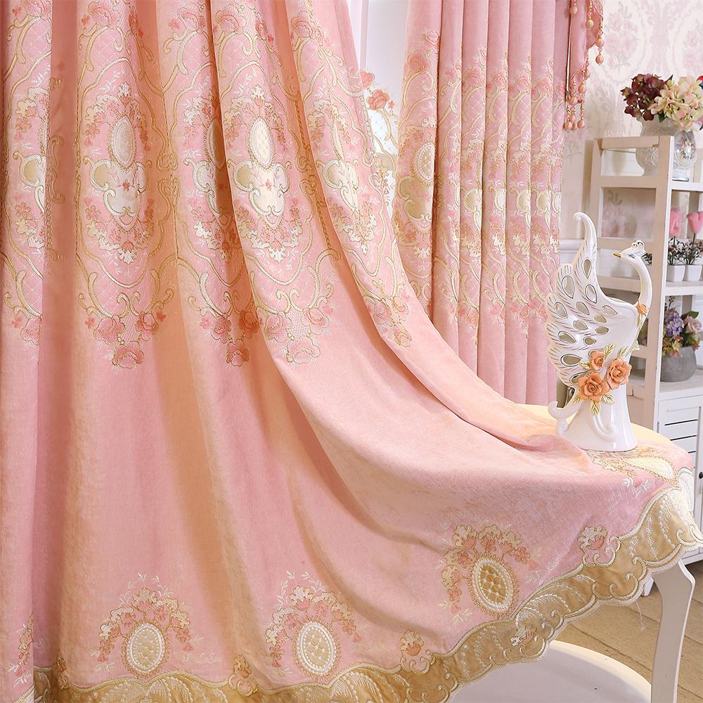 Цвет: Кашемир вышитые шторы