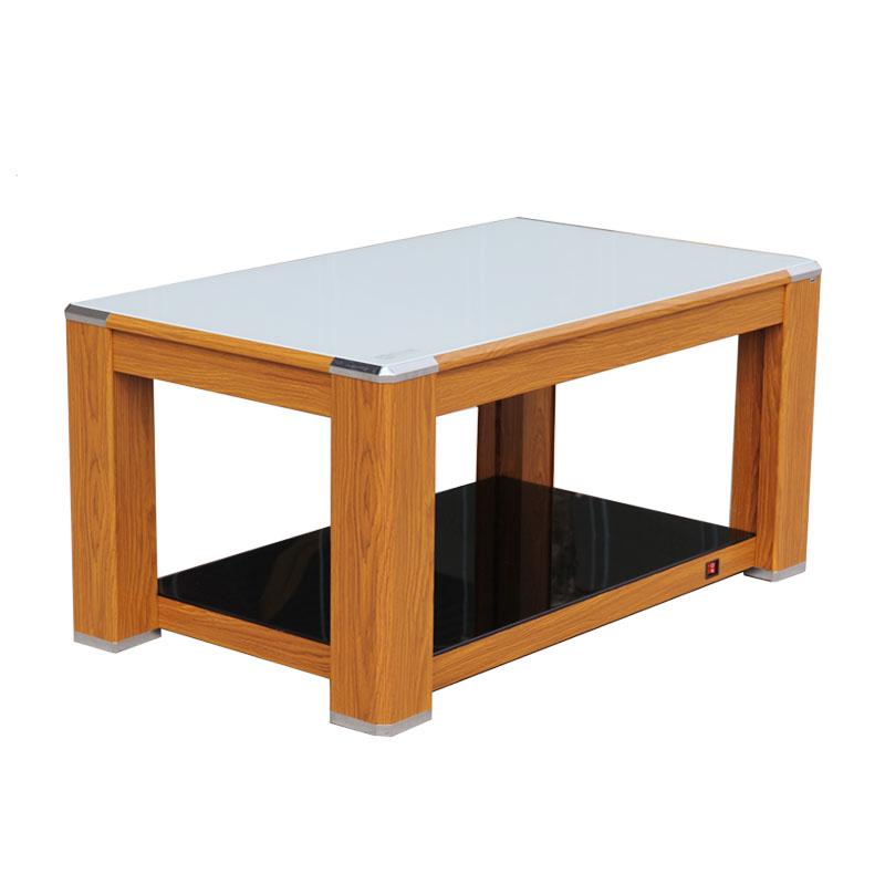 雪中情电暖桌取暖茶几烤火桌子家用电暖炉多功能桌面加热器长方形
